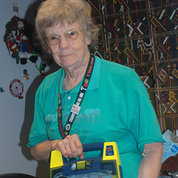 Juli Egebrecht, CPR/ AED instructor