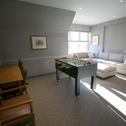 A renovated common area lounge. PHOTO: FOUNDATION FOR THE NIH