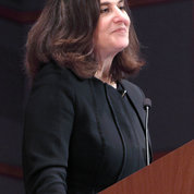 """Victoria Reggie Kennedy, widow of Sen. Ted Kennedy, explains the four elements of """"Rabsonian wisdom."""" PHOTO: CHIA-CHI CHARLIE CHANG"""