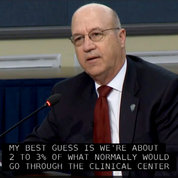 Clinical Center CEO Dr. James Gilman