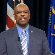 NIH deputy director for management Dr. Alfred Johnson