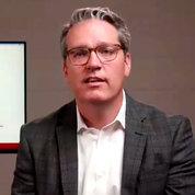 Fagerlin speaks on video.