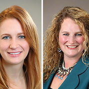 Dr. Tara Schwetz (l) and Dr. Carrie Wolinetz have joined the White House OSTP.