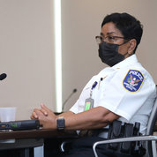 Maj. Pamela Datcher PHOTO: CHIA-CHI CHARLIE CHANG